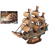 Firefox The Spanish Armada 248pcs 3D Jigsaw Puzzle #bd-t034s