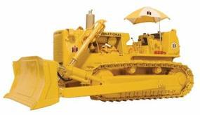 First-Gear TD-25 Dozer with Umbrella and Hitch Diecast Model Construction Equipment 1/50 Scale #503132