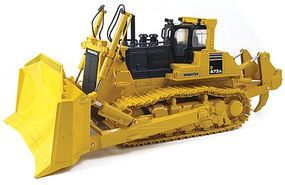 First-Gear Komatsu D475A-5EO Dozer with Ripper Diecast Model Construction Equipment 1/50 Scale #503230