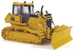 First-Gear Komatsu D65PX-17 Dozer with Hitch Diecast Model Construction Equipment 1/50 Scale #503246