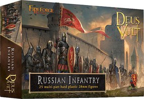 Fireforge 28mm Deus Vult Medieval Russian Infantry (25)