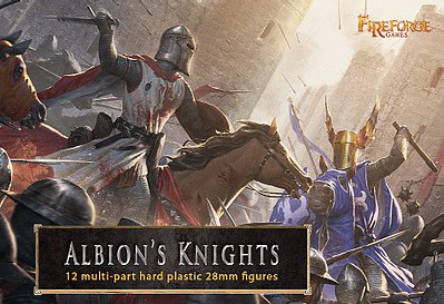 Fireforge 28mm Albions Knights (12 Mtd)