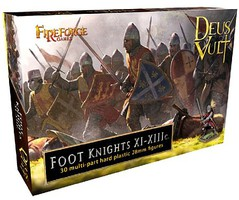 Fireforge 28mm Deus Vult Foot Knights XI-XIIIc (30)