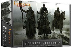 Fireforge 28mm Mounted Sergeants (12 Mtd)