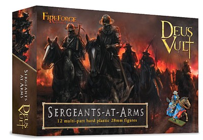 Fireforge 28mm Deus Vult Sergeants at Arms (12 Mtd)