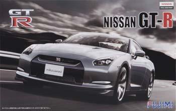 Fujimi Nissan R35 Gt R 2 Door Sports Car Re Issue Plastic Model