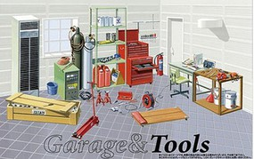 Fujimi 1/24 Mechanic Tools