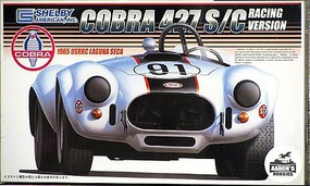 Fujimi 1965 Shelby Cobra 427S/C #91 Race Car USRRC Plastic Model Car Kit 1/24 Scale #12092