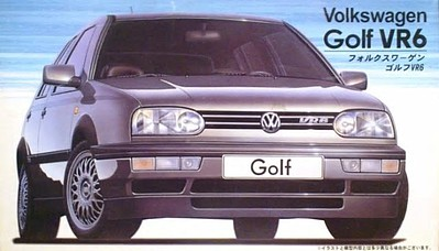 Fujimi 1991 Volkswagen Golf VT6 5-Door Hatchback Car Plastic Model Car Kit 1/24 Scale #12093