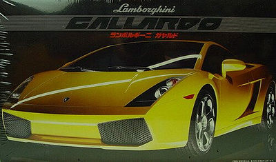 Fujimi Lamborghini Gallardo Sports Car Plastic Model Car Kit 1/24 Scale #12213