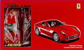 Fujimi Ferrari 599 GTB Fiorano Plastic Model Car Kit 1/24 Scale #12277