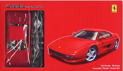 Fujimi Ferrari F355 Berlinett Sports Car -- Plastic Model Car Kit -- 1/24 Scale -- #123042