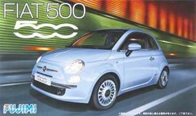 Fujimi New Fiat 500 Plastic Model Car Kit 1/24 Scale #12362