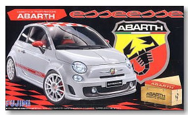 Fujimi 1/24 Abarth 500 Esseesse Compact 2-Door Car