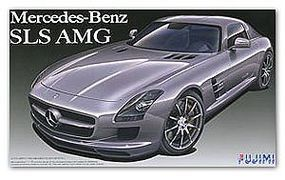 Fujimi Mercedes Benz SLS AMG Sports Car Plastic Model Car Kit 1/24 Scale #12392