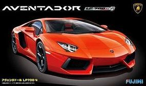 Fujimi Lamborghini Aventador Sports Car Plastic Model Car Kit 1/24 Scale #12397