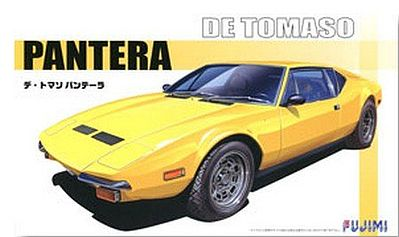 Fujimi De Tomaso Pantera -- Plastic Model Car Kit -- 1/24 Scale -- #12557