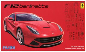 Fujimi 1/24 Ferrari F12 Berlinetta Sports Car