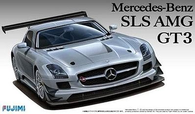 Fujimi Mercedes Benz SLS AMG GT3 Sports Car Plastic Model Car Kit 1/24 Scale #12569