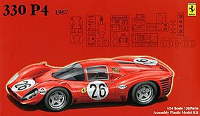 Fujimi 1967 Ferrari 330P4 Race Car Plastic Model Car Kit 1/24 Scale #12575