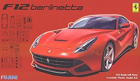 Fujimi Ferrari F12DX Berlinetta Sports Car Plastic Model Car Kit 1/24 Scale #12619