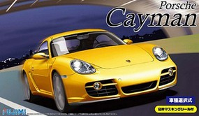 Fujimi Porsche Cayman Sports Car Plastic Model Car Kit 1/24 Scale #12622