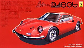 Fujimi Dino Ferrari 246GT Sports Car Plastic Model Car Kit 1/24 Scale #12623
