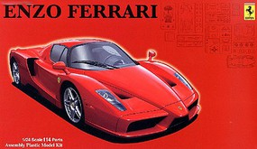 Fujimi Ferrari Enzo Sports Car Plastic Model Car Kit 1/24 Scale #12624