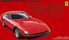 Fujimi Ferrari 365 GTB4 Daytona Sports Car Plastic Model Car Kit 1/24 Scale #12631