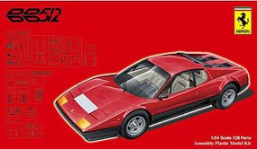 Fujimi Ferrari 512BB Sports Car Plastic Model Car Kit 1/24 Scale #12632