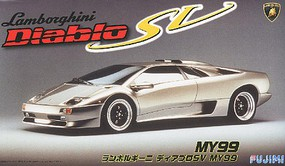 Fujimi Lamborghini Diablo SV MY99 Sports Car Plastic Model Car Kit 1/24 Scale #12634