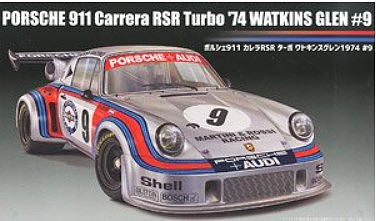 Fujimi 1/24 Porsche Carrera 911 RSR Turbo Martini #9 1974 Watkins Glen Race Car