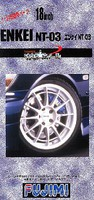 Fujimi 1/24 Enkei NT03 18'' Tire & Wheel Set (4)