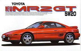 Fujimi 1993 Toyota MR-2 Plastic Model Car Kit 1/24 Scale #3886