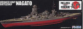 Fujimi IJN Nagato Battleship Full Hull Plastic Model Military Ship Kit 1/700 Scale #42151