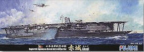 Fujimi IJN Akagi Aircraft Carrier Waterline Plastic Model Military Ship Kit 1/700 Scale #43028