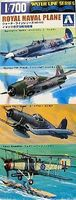Fujimi Royal Navy Aircraft Set Plastic Model Airplane Kit 1/700 Scale #45102