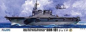Fujimi JMSDF Hyuga DDH181 Helicopter Destroyer Plastic Model Military Ship 1/350 Scale #60011