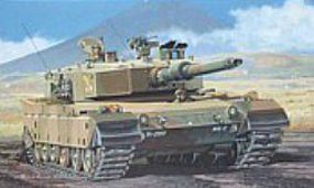 Fujimi Type 90 SWA 6 JGSDF Japanese Tank Plastic Model Military Vehicle Kit 1/76 Scale #76036