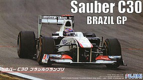 Fujimi 1/20 Sauber C30 Brazil Grand Prix Race Car