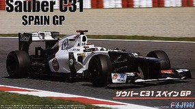 Fujimi 1/20 Sauber C30 Spain Grand Prix Race Car