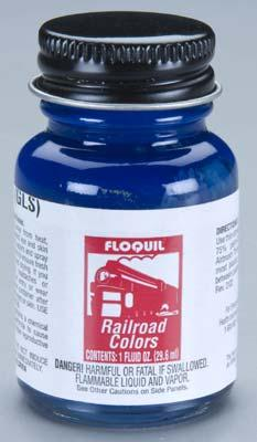 Railroad colors 1oz 30ml solvent based csx for Solvent based glass paint