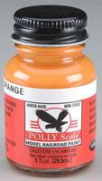 Floquil (bulk of 6) 1oz. Bottle Polly Scale Acrylic Reefer Orange (D)