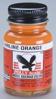 Floquil (bulk of 6) 1oz. Bottle Polly Scale Acrylic Seaboard Air Line Orange (D)