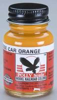 Floquil (bulk of 6) 1oz. Bottle Polly Scale Acrylic SCL Caboose Car Orange (D)