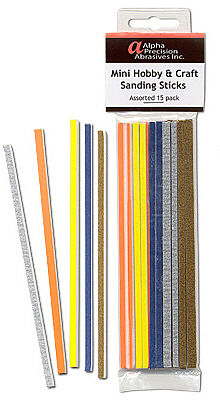 Flex-I-File MINI HOBBY & CRAFT STICKS 15pk