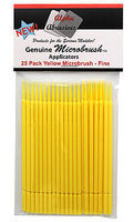 Flex-I-File MICRO BRUSHES Fine 25pak Yel