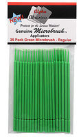 Flex-I-File MICRO BRUSHES Regular 25pk Grn