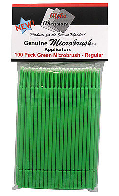 Flex-I-File MICRO BRUSHES Regular 100pkGrn