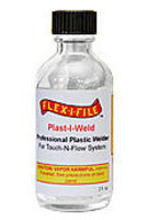 Flex-I-File Plast-I-Weld Solvent Cement (2oz. Bottle)